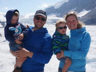 Daan, Maarten, Tijl en Petra: Toen in Canada, nu klaar voor een nieuwe start in Arlon