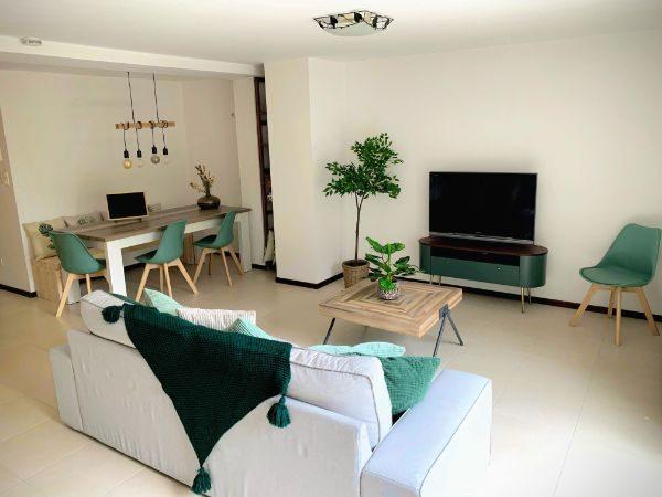 vakantiehuis Arel - woonkamer