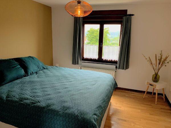 Slaapkamer met bed van 180 x 200